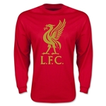 Liverpool Liver Bird LS T-Shirt (Red)