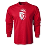 LOSC Lille Crest LS T-Shirt (Red)