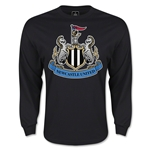Newcastle United Crest LS T-Shirt (Black)