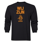 Netherlands We Are LS T-Shirt (Black)