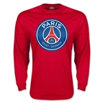 Paris Saint-Germain LS T-Shirt (Red)