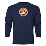 FC Santa Claus Core Men's LS T-Shirt (Navy)