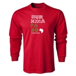 Burkina Faso LS Country T-Shirt (Red)