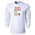 Burkina Faso LS Country T-Shirt (White)