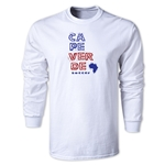 Cape Verde LS Country T-Shirt (White)