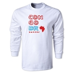 Congo DR LS Country T-Shirt (White)