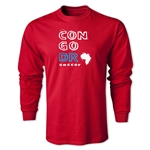 Congo DR LS Country T-Shirt (Red)