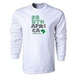 South Africa LS Country T-Shirt (White)