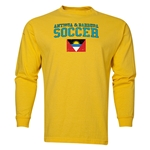 Antigua & Barbuda LS Soccer T-Shirt (Yellow)