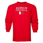 Bahrain LS Football T-Shirt (Red)