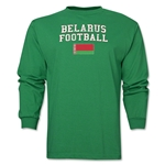 Belarus LS Football T-Shirt (Green)