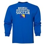 Bosnia-Herzegovina LS Soccer T-Shirt (Royal)