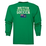 British Virgin Islands LS Soccer T-Shirt (Green)