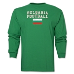 Bulgaria LS Football T-Shirt (Green)