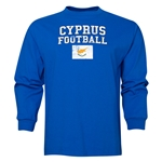 Cyprus LS Football T-Shirt (Royal)
