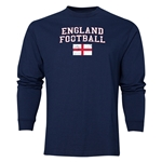 England LS Football T-Shirt (Navy)
