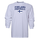 Finland LS Football T-Shirt (White)