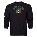 Mexico LS Soccer T-Shirt (Black)