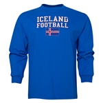 Iceland LS Football T-Shirt (Royal)
