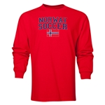Norway LS Soccer T-Shirt (Red)