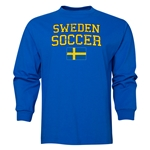 Sweden LS Soccer T-Shirt (Royal)