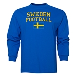 Sweden LS Football T-Shirt (Royal)