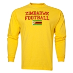 Zimbabwe LS Football T-Shirt (Yellow)
