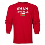 Oman LS Football T-Shirt (Red)