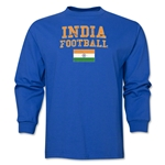 India LS Football T-Shirt (Royal)