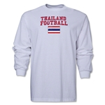 Thailand LS Football T-Shirt (White)