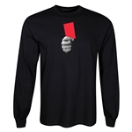 Red Card LS T-Shirt (Black)