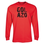 Gol Azol LS T-Shirt (Red)