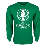 Euro 2016 Core Emblem Long Sleeve T-Shirt (Green)