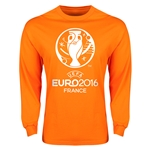 Euro 2016 Core Emblem Long Sleeve T-Shirt (Orange)