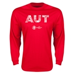 Austria Euro 2016 Elements LS T-Shirt (Red)