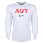 Austria Euro 2016 Element Long Sleeve T-Shirt (White)