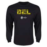 Belgium Euro 2016 Element Long Sleeve T-Shirt (Black)