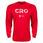 Croatia Euro 2016 Element Long Sleeve T-Shirt (Red)