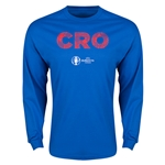 Croatia Euro 2016 Element Long Sleeve T-Shirt (Royal)