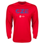 Czech Republic Euro 2016 Element Long Sleeve T-Shirt (Red)