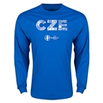 Czech Republic Euro 2016 Element Long Sleeve T-Shirt (Royal)