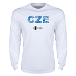 Czech Republic Euro 2016 Element Long Sleeve T-Shirt (White)