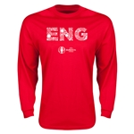 England Euro 2016 Element Long Sleeve T-Shirt (Red)