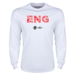 England Euro 2016 Elements LS T-Shirt (White)
