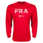 France Euro 2016 Elements LS T-Shirt (Red)