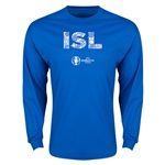 Iceland Euro 2016 Element Long Sleeve T-Shirt (Royal)