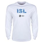 Iceland Euro 2016 Element Long Sleeve T-Shirt (White)