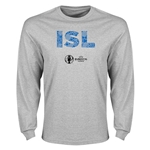 Iceland Euro 2016 Element Long Sleeve T-Shirt (Grey)