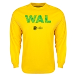Wales Euro 2016 Element Long Sleeve T-Shirt (Yellow)