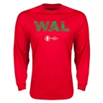 Wales Euro 2016 Elements LS T-Shirt (Red)
